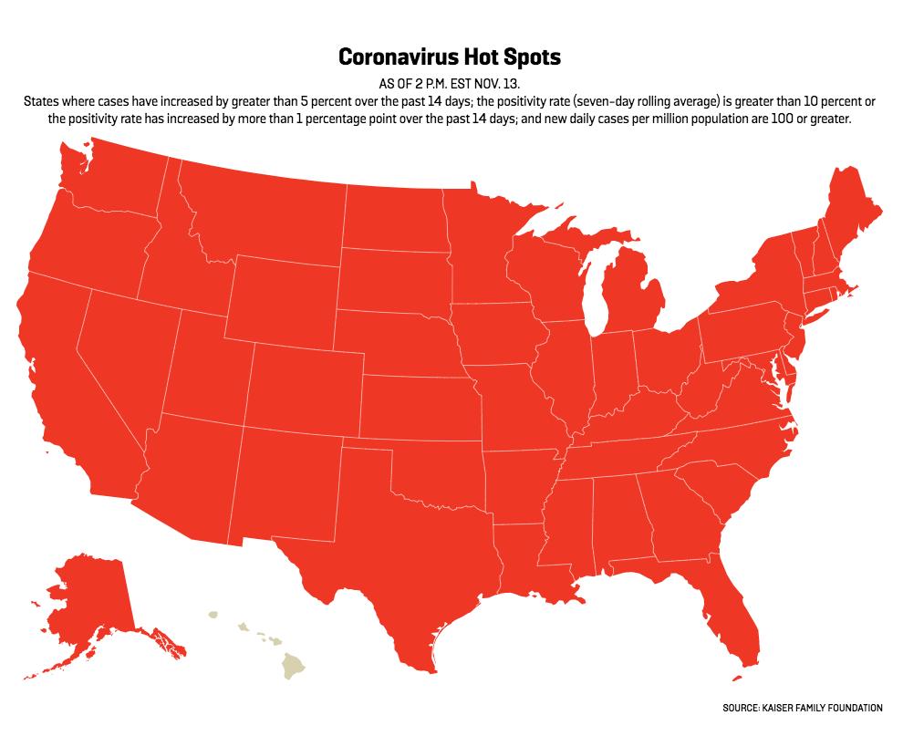 者 数 アメリカ コロナ 州 感染
